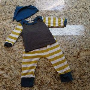 Other - Matching Pajama Set W/ Beanie